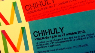 Exposition Chihuly - Good Morning Montreal