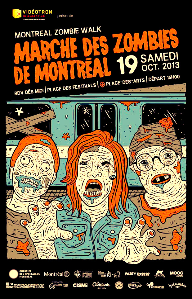 La marche des zombies - Good Morning Montreal