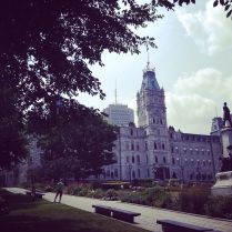 Le parlement, Quebec, Good Morning Montreal